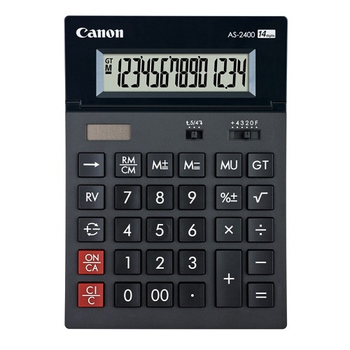 CANON Kalkulator [AS-2400] - Kalkulator Office / Pocket
